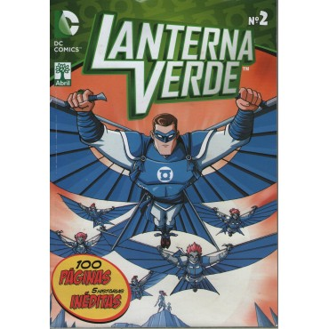 Lanterna Verde Cartoon Network nº 2