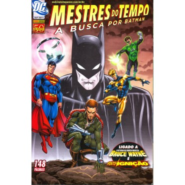 Mestres do Tempo: A Busca por Batman nº 1